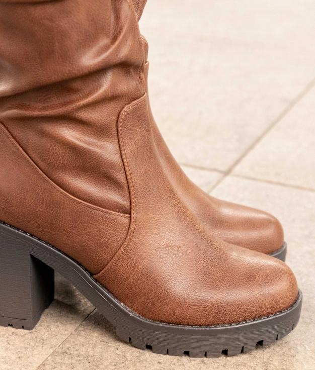 Knee-length Boot Soefe - Camel