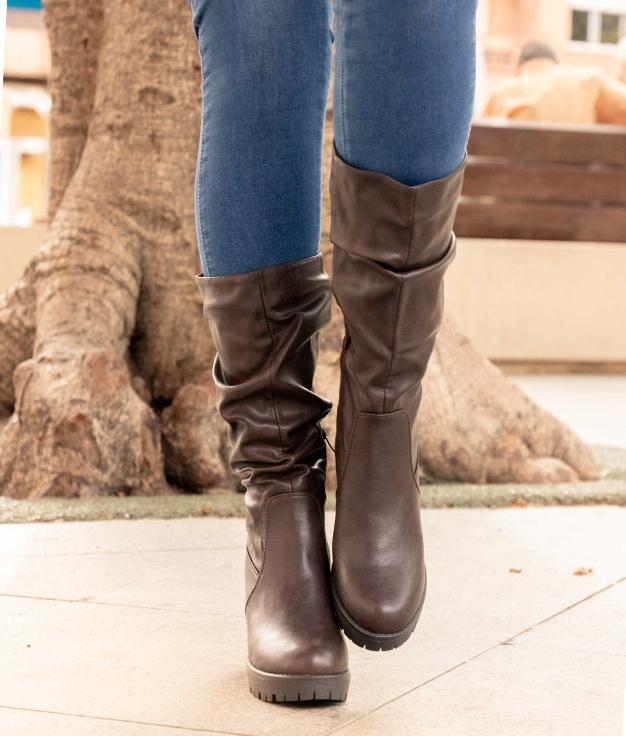 Knee-length Boot Soefe - Brown