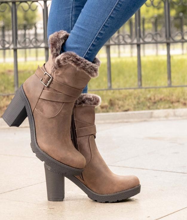Low Boot Rian - Khaki