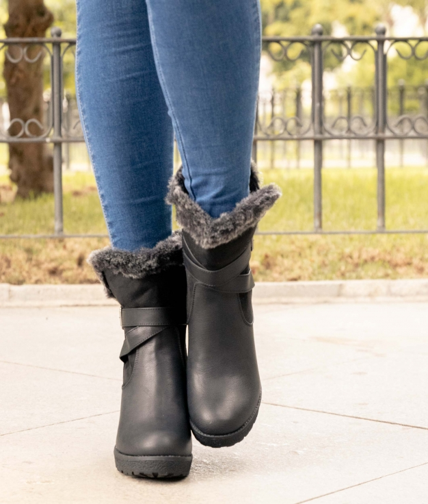Low Boot Rian - Black