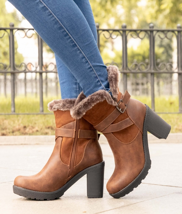 Low Boot Rian - Camel