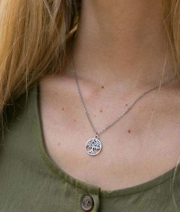 Necklace Mirok - Silver
