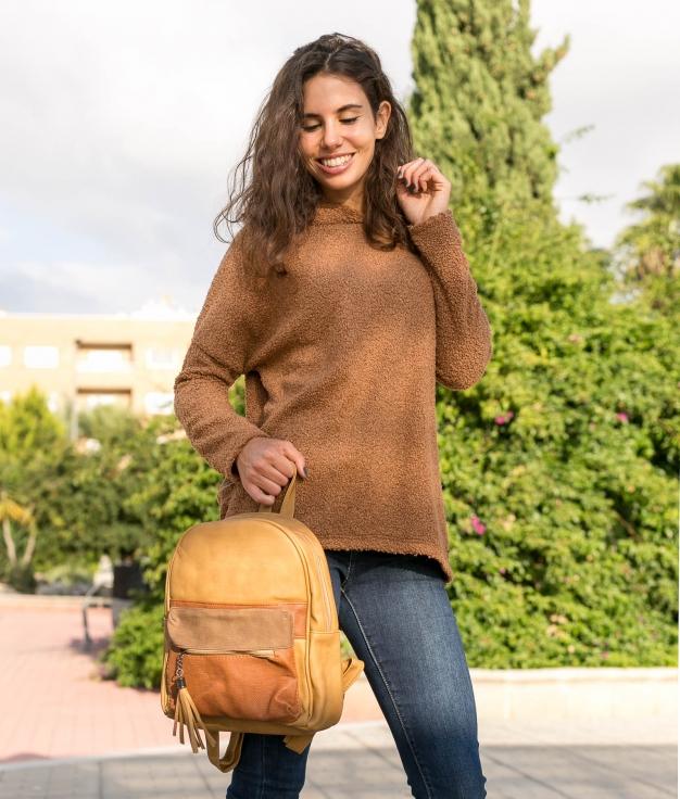 Sweatshirt Toms - Camel