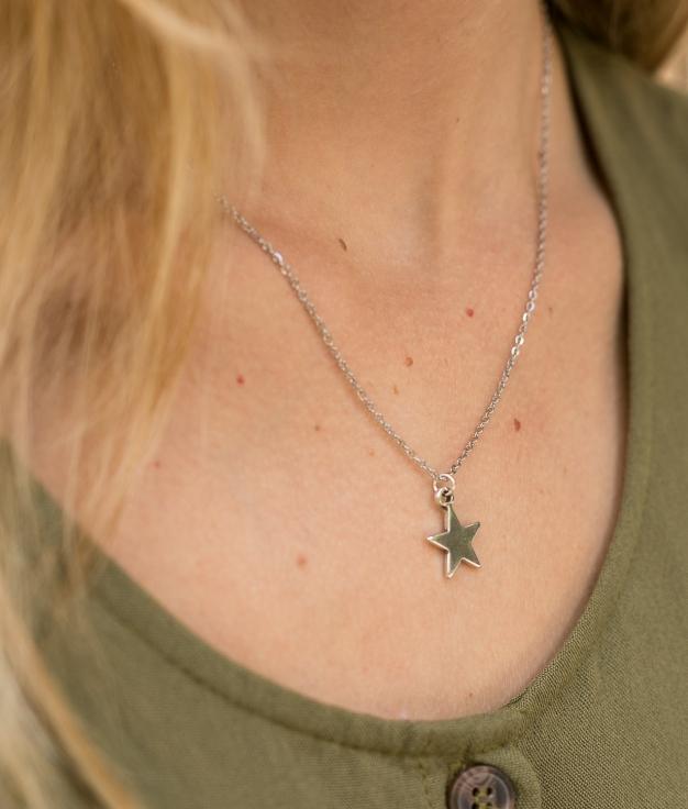 Necklace Selda - Silver