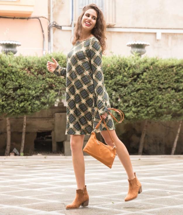 Dress Fanet - Green