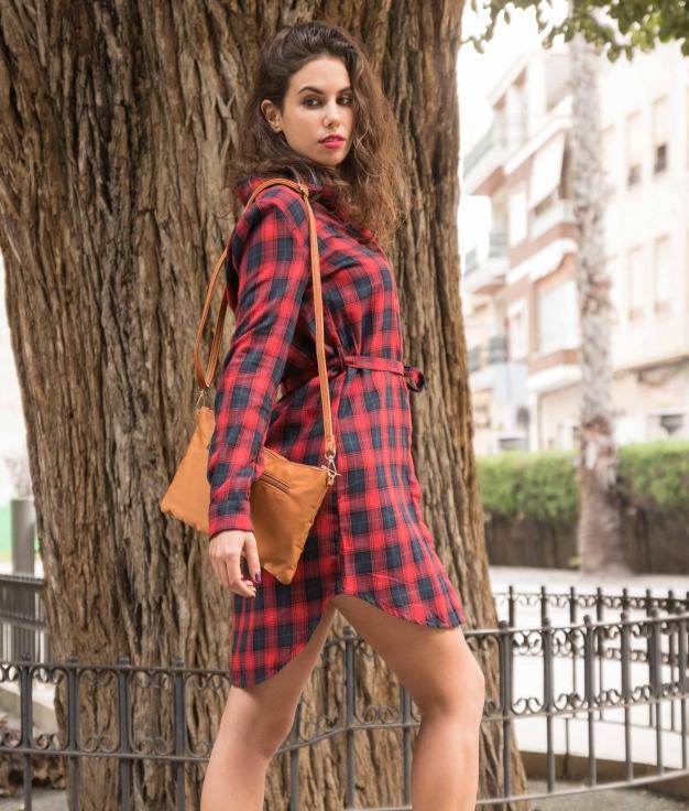 Dress Sulgole - Red