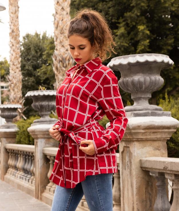 Camisa Sinera - Rojo
