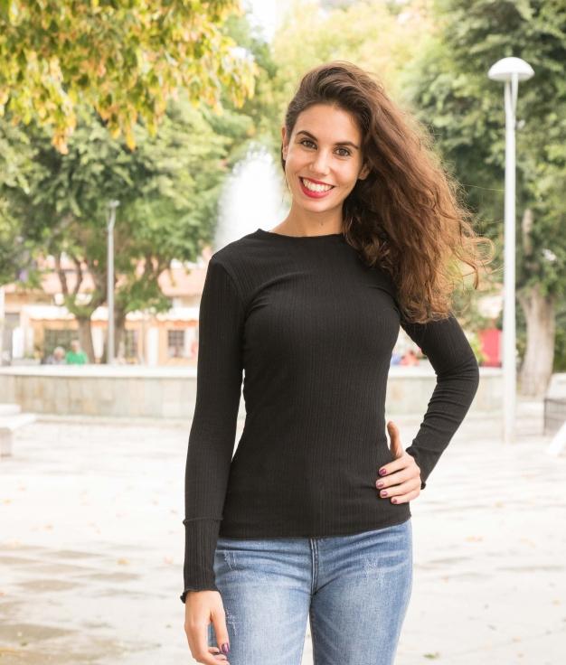 Camiseta Linta - Negro