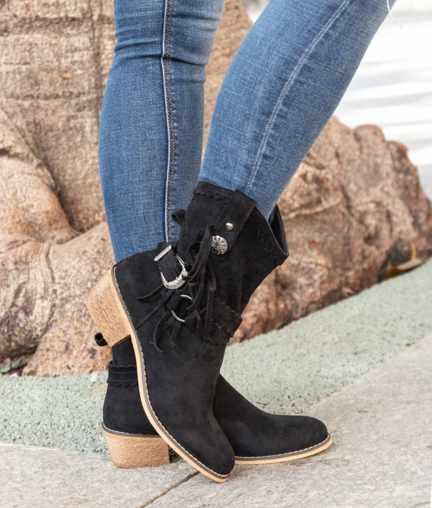 Low Boot Nores - Black