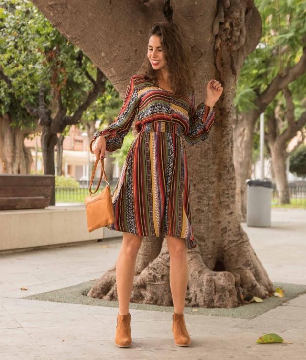 Dress Tepas - Multicolor
