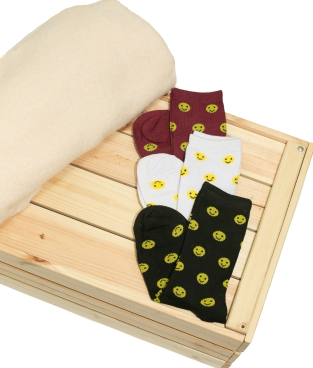 Sock Smile - Multicolor Pack 1