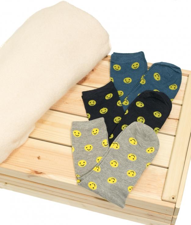 Sock Smile - Multicolor Pack 2
