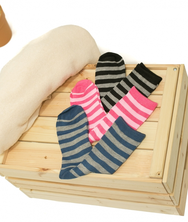 Chaussette Raller - Multicolore Pack 1