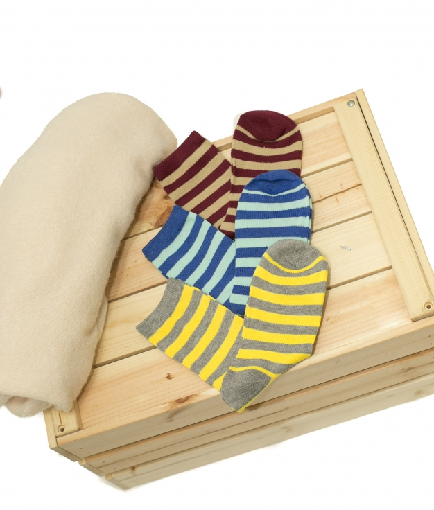 Chaussette Raller - Multicolore Pack 2