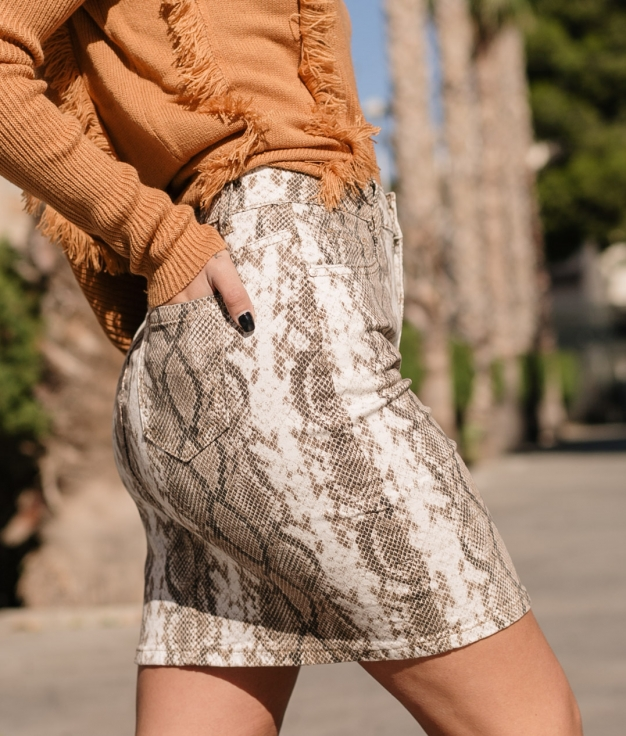 Skirt Lindamo - Taupe