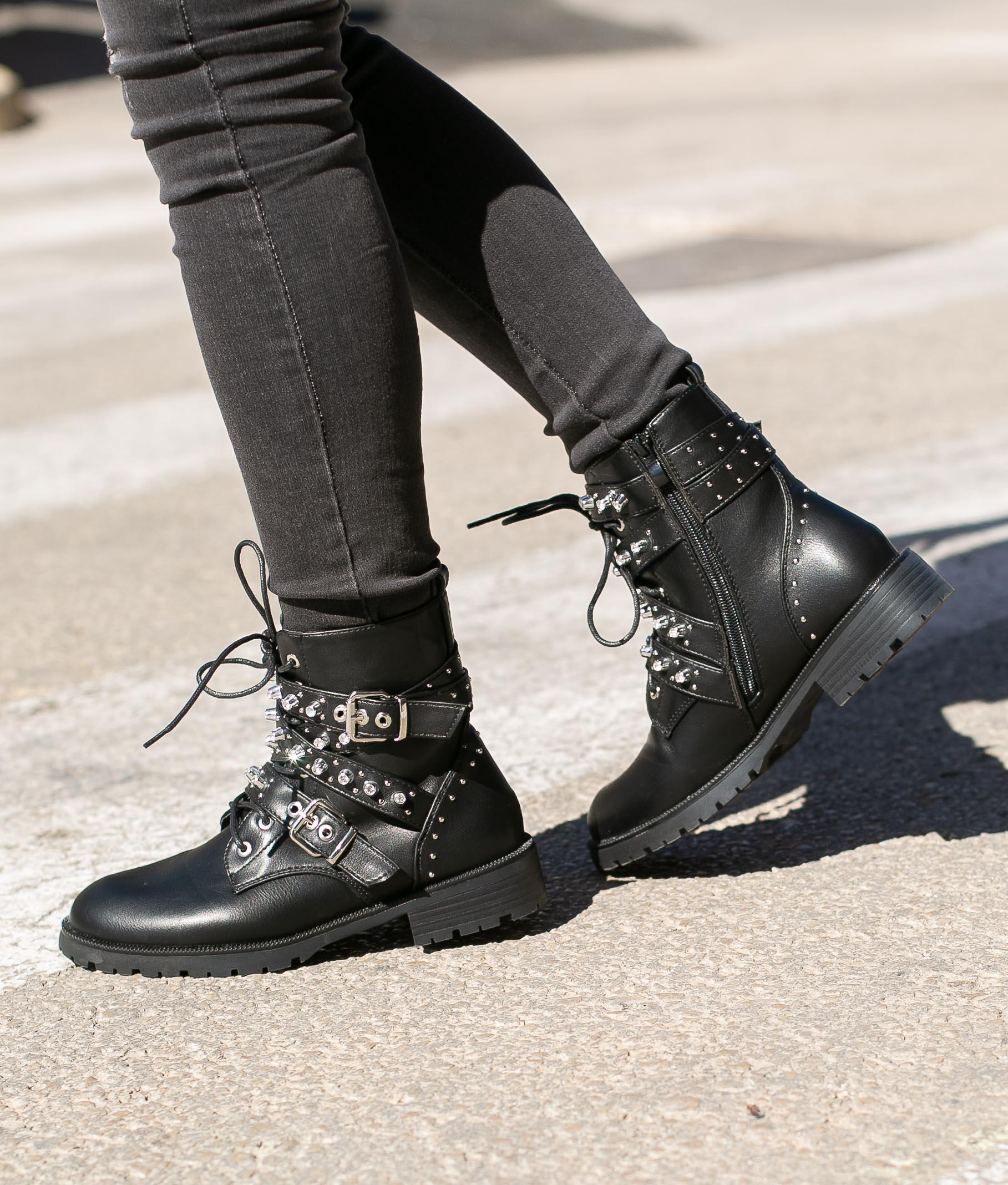 Low Boot Charan - Black