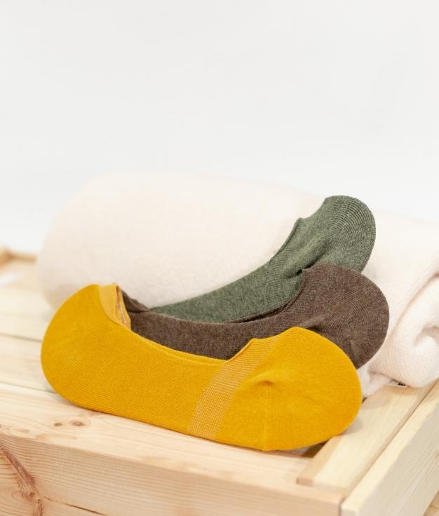 Meias Fasle - Multicolorido Pack 3