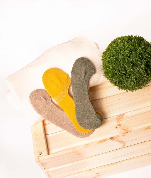 Sock Fasle - Multicolor Pack 4