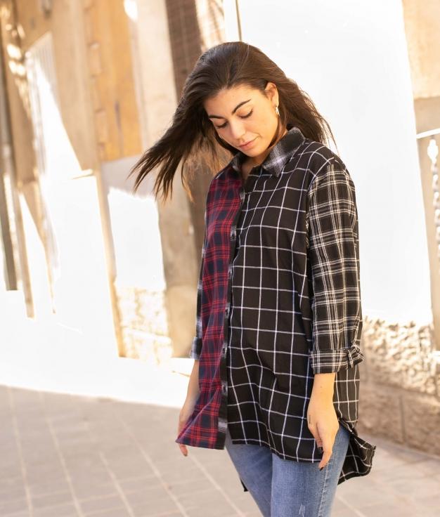 Camicia Leren - Rosso