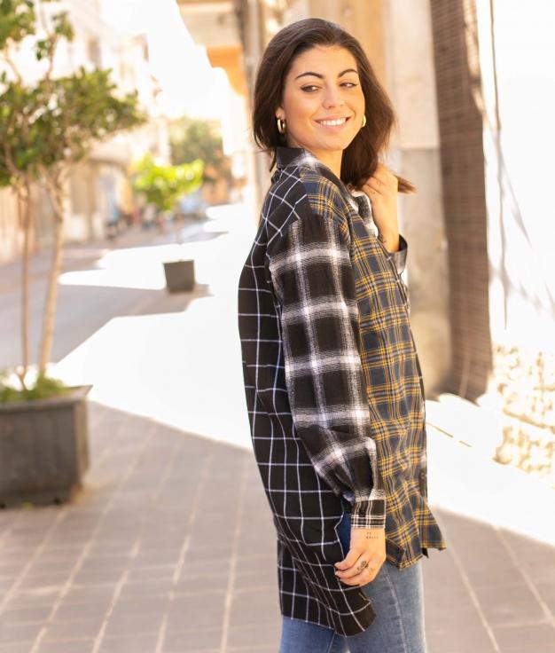 Camicia Leren - Giallo