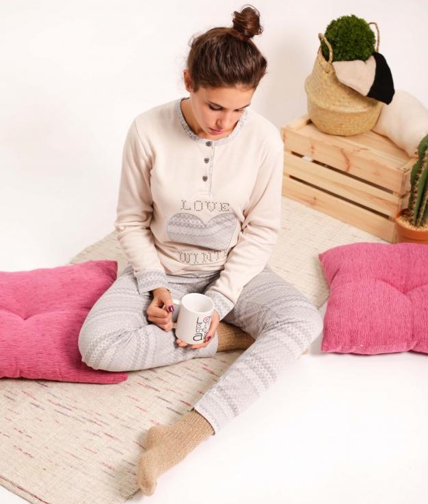 Pijama Gorun - Grey
