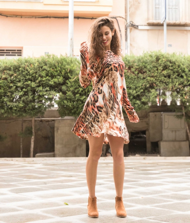 Dress Yelia - Red
