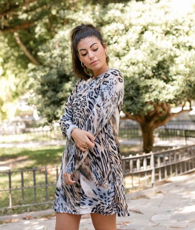 Dress Yelia - Blue