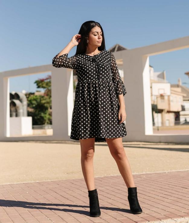 Vestido Persin - Negro