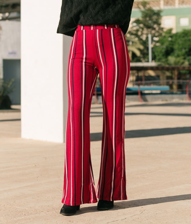 Trousers Corsina - Red