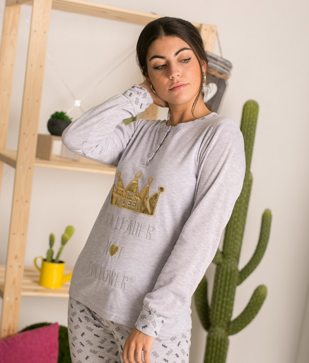 Pijama Kenos - Gris