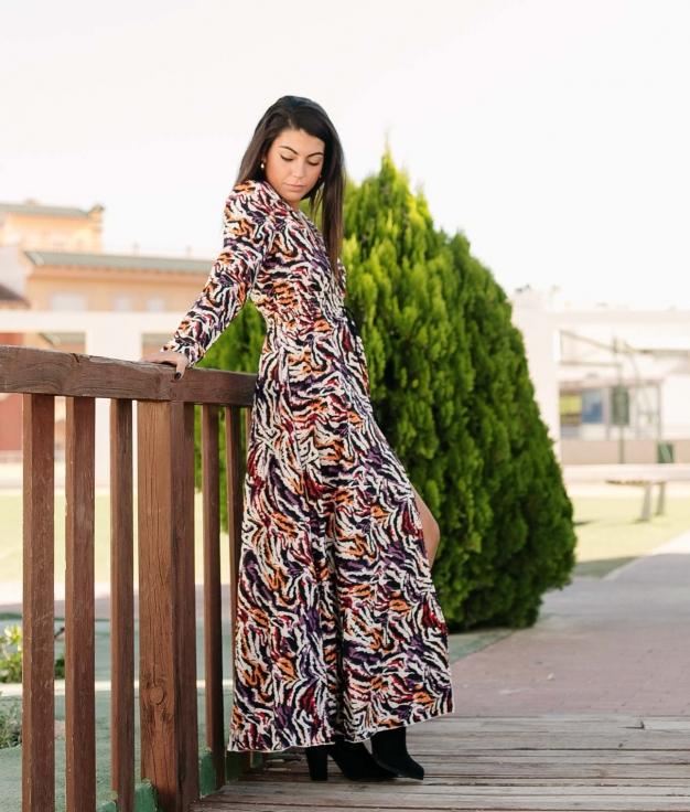 Vestido Kadal - Multicolor