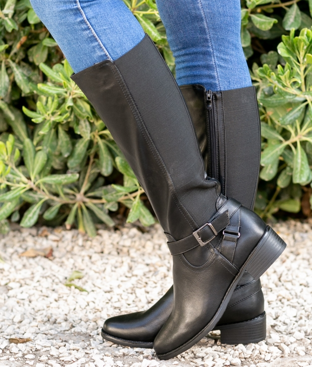 Knee-length Boot Yean - Black