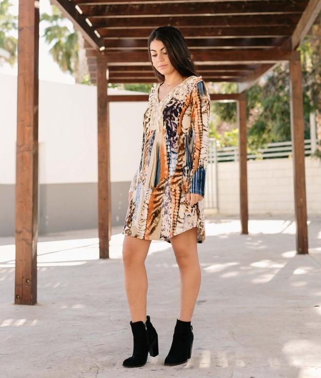 Vestido Ellano - Multicolor