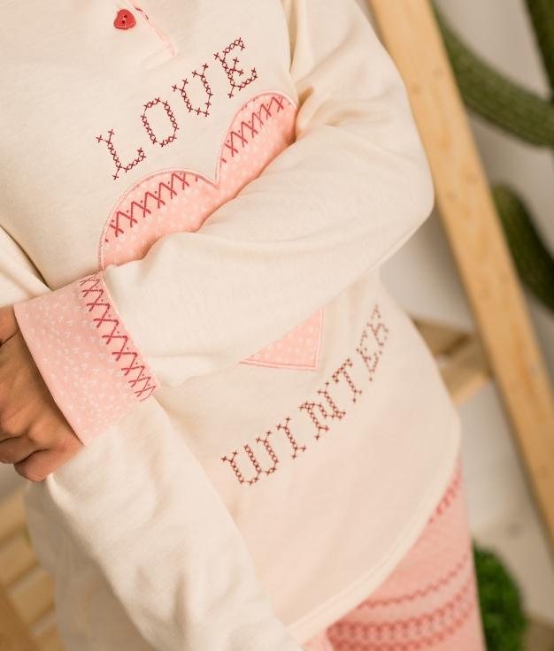 Pijama Gorun - Rosa