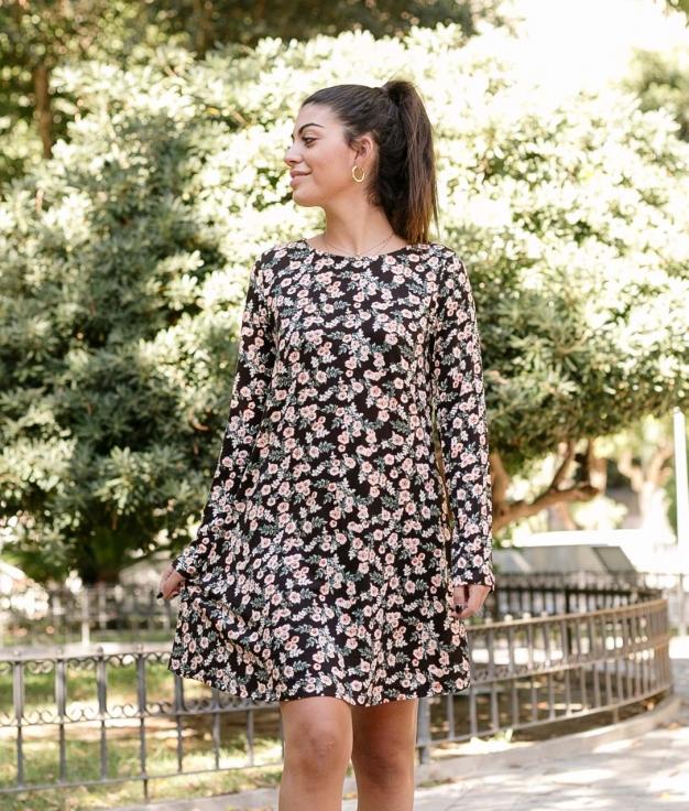 Dress Venpor - Black