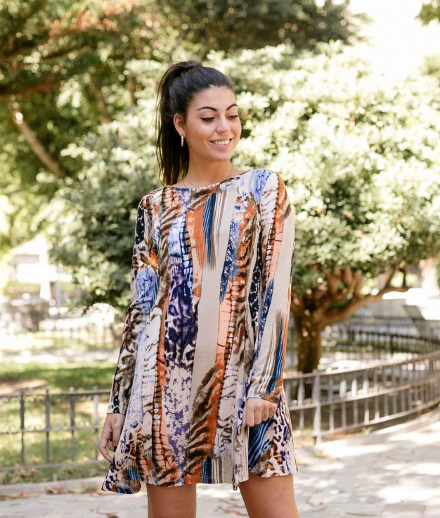Vestido Astola - Multicolor