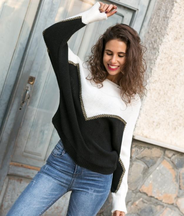 Sweater Suqer - White