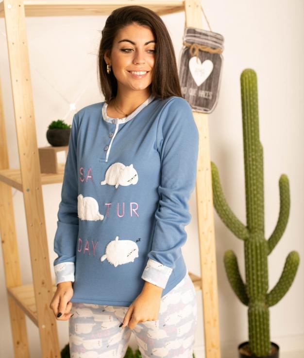 Pijama Neblis - Azul