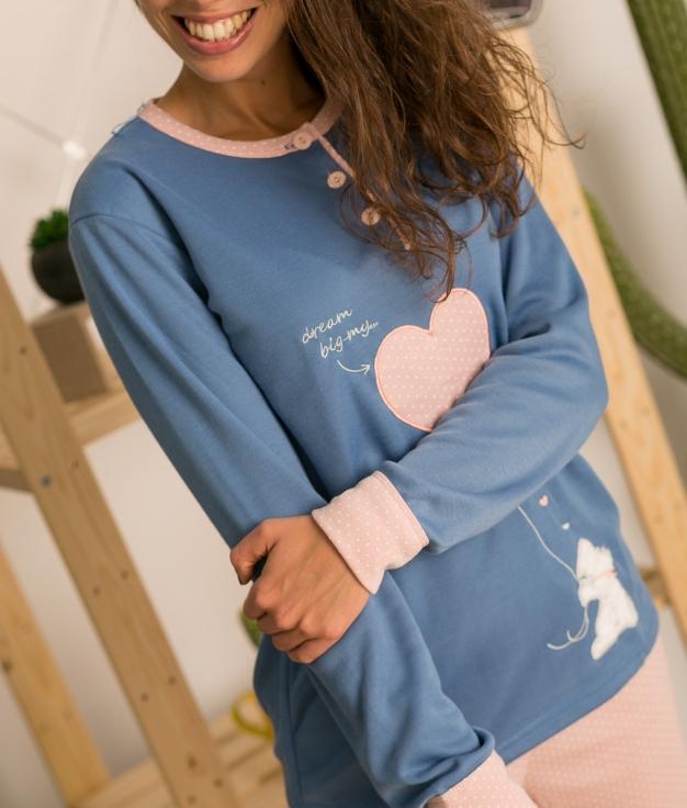 Pijama Staren - Azul