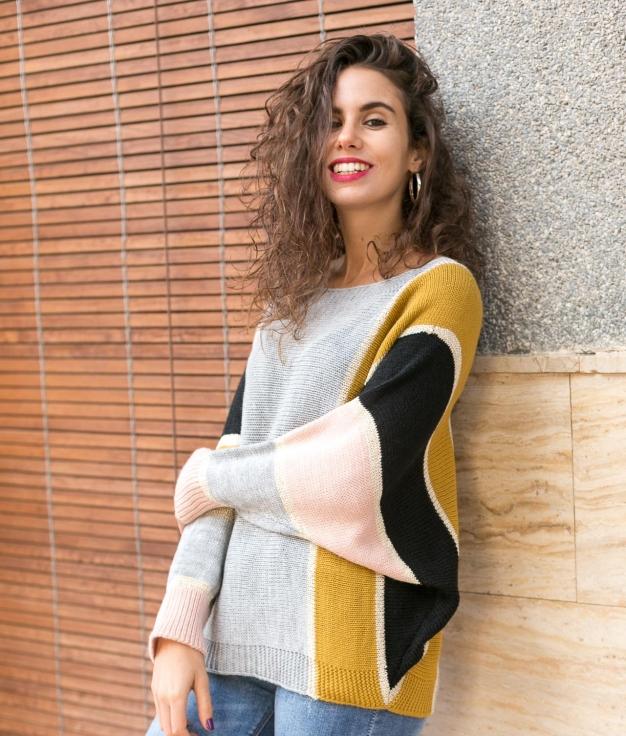 Sweater Quelmire - Grey