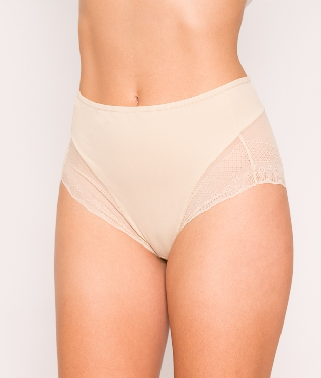 Sports Thong Luquer - Beige