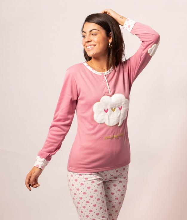Pyjama Mikus - Rose