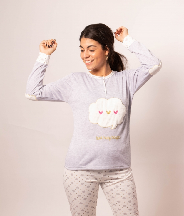 Pijama Mikus - Gris