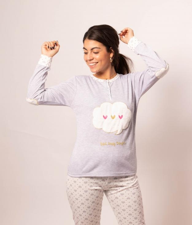 Pyjama Mikus - Gris