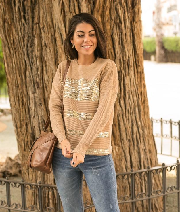 Sweater Balar - Beige