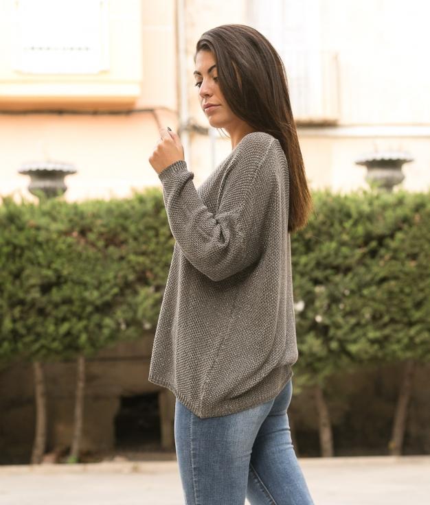 Sweater Ganster - Grey
