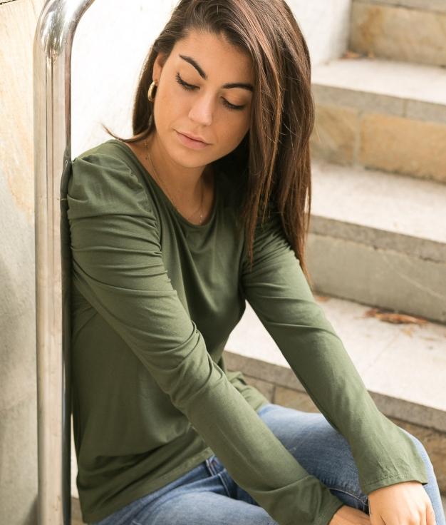 Camiseta Qaser - Verde