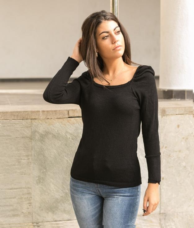Sweater Girnes - Black