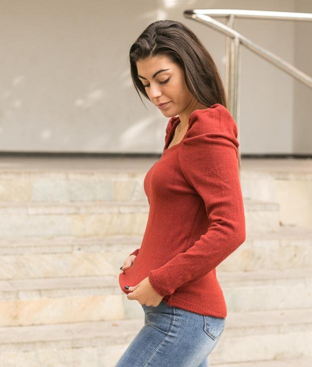 Sweater Girnes - Brik