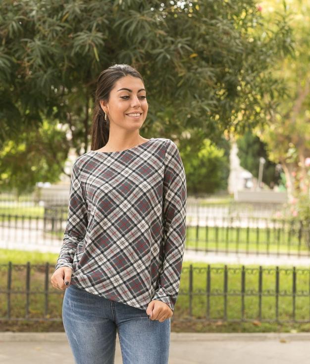 Camiseta Bacini - Cinza